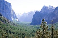 Het Nationale Park van Yosemite stock afbeelding