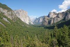 Het Nationale Park van Yosemite, Californië, de V Royalty-vrije Stock Foto