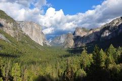 Het Nationale Park van Yosemite, Californië, de V Stock Foto