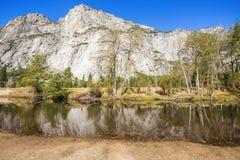 Het Nationale Park van Yosemite in Californi?, de V Stock Afbeelding