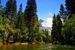 Het Nationale Park van Yosemite, de V.S. royalty-vrije stock foto