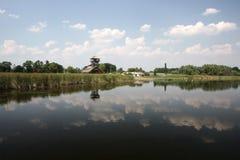 Het nationale park van Zasavica Stock Fotografie