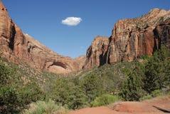 Het Nationale Park van Zion Stock Afbeeldingen