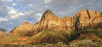 Het Nationale park van Zion Stock Foto's