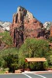 Het Nationale Park van Zion, de V.S. Stock Fotografie