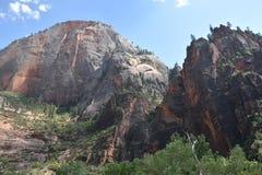 Het Nationale Park van Zion in Utah Stock Fotografie