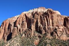 Het Nationale Park van Zion, Utah Stock Foto