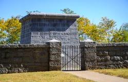 Het Nationale Slagveld van de stenenrivier royalty-vrije stock afbeelding