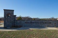 Het Nationale Slagveld van de stenenrivier Stock Foto