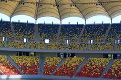 Het nationale stadion van de Arena Stock Afbeeldingen
