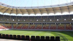 Het nationale stadion van de Arena stock footage