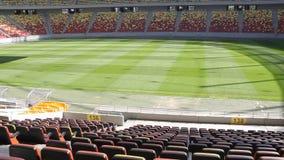 Het nationale stadion van de Arena stock video
