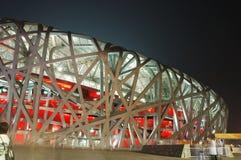 Het nationale Stadion van Peking Royalty-vrije Stock Foto