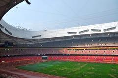 Het Nationale Stadion van Peking (het nest van de Vogel) Royalty-vrije Stock Afbeelding