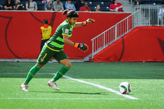 Het nationale team van Australië De Wereldbeker van FIFA Women's Stock Afbeelding