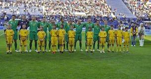 Het nationale team van Litouwen Royalty-vrije Stock Foto's