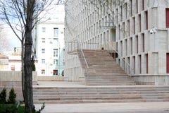 Het nationale theater van Boekarest stock afbeelding