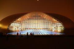 Het Nationale Theater van China stock afbeeldingen