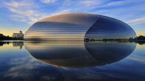Het Nationale Theater van China in Peking stock foto's