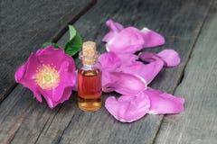Het natuurlijke aroma nam essentie toe royalty-vrije stock foto