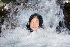 Het natuurlijke baden Stock Afbeeldingen