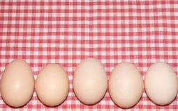Het natuurlijke ei van Pasen Stock Afbeelding