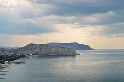 Het natuurlijke landschap van het overzees Royalty-vrije Stock Afbeelding