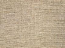 Het natuurlijke patroon van de linnentextuur als achtergrond Royalty-vrije Stock Foto
