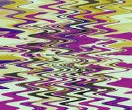 Het natuurlijke schilderen Abstracte droge geschilderde muur Golvende dikke verftextuur Multi & mengelings multimedia art. stock illustratie