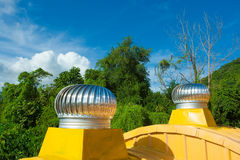 Het natuurlijke Ventilator van het Dak Royalty-vrije Stock Afbeeldingen