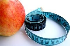In het nauw gedreven in een dieet Stock Foto
