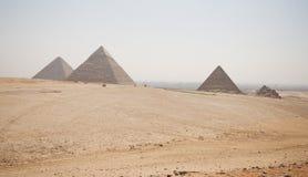 Het Necropool van Giza stock fotografie