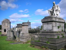 Het Necropool van Glasgow Royalty-vrije Stock Fotografie