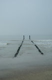 Het Nederland van het Noordzeestrand Stock Fotografie