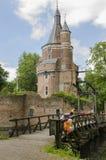 Het Nederland van kasteelwijk bij Duurstede Stock Foto's
