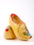 Het Nederlands wodden schoenen Royalty-vrije Stock Foto's