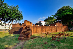 Het Nederlandse Fort Royalty-vrije Stock Foto