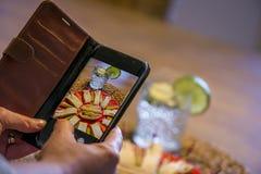 Het nemen van Beeld van Voedsel Royalty-vrije Stock Afbeelding