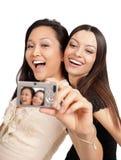 Het nemen van beelden Royalty-vrije Stock Afbeeldingen