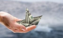 Het nemen van een inkomenscursus Gemengde media Royalty-vrije Stock Afbeeldingen