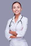 Het nemen van goede zorg van uw gezondheid Stock Afbeeldingen