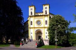 Het nemen van Kerk Nanebe van Onze Dame Royalty-vrije Stock Fotografie