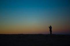 Het nemen van zonkust II Stock Afbeelding