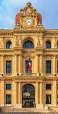 Het neoklassieke stadhuis of hotel DE ville bouwde dichtbij de jaren 1870 in stock foto