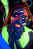 Het neon maakt omhoog Royalty-vrije Stock Fotografie