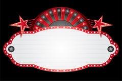Het neon van de roulette Royalty-vrije Stock Afbeelding