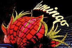 Het neon van Vegas van Las Stock Afbeeldingen