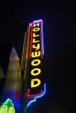 Het neonteken van Hollywood Royalty-vrije Stock Fotografie