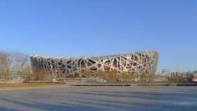 Het Nest van de Nationale Vogel van het Stadion van Peking Royalty-vrije Stock Foto's