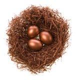 Het nest van het brons Royalty-vrije Stock Afbeelding